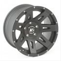 Jante rugged ridge XHD Noire mat en aluminium 18 X 9 JK et JKU