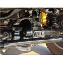 Coquille de protection de pont ARB noire Dana 44 Jeep