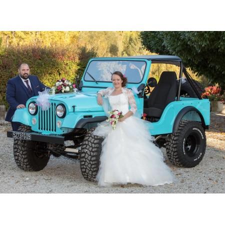 """CJ 5 1975 de Cédric , """" je veux me marier en Jeep"""""""