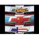 Autocollant embleme de voiture Chevrolet drapeau US petit modele