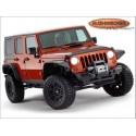 Kit d'extensions d'ailes Flat Fender Style Bushwacker 4 Portes Jeep JKU