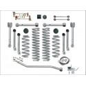 """Kit rehausse Super Flex Short Arm 4,5"""" avec modele Rubicon RXT amortisseurs TJ"""