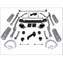 "Kit rehausse rubicon express Extreme Duty Long Arm 3,5"" 90mm sans amortisseurs Wrangler JK"