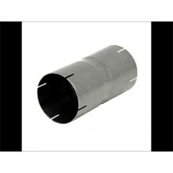 Jonction d'échappement double inox diamètre 76.1 mm