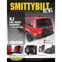 Pare choc arriere smittybilt XRC avec porte roue Jeep Cherokee XJ