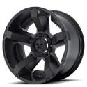 Jante noire Rockstar ll 9 X 20 5 X127 5X 114.3 Jeep Wrangler JK ou JKU