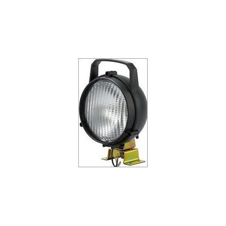 Phare de travail 6' 12V 55 W ampoule H3 patte de fixation vendu à l'unité