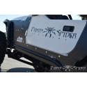 Marche pied acier a peindre Jeep Wrangler TJ Poison spyder