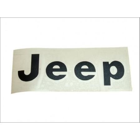 Autocllant Jeep la Paire en noir CJ-YJ