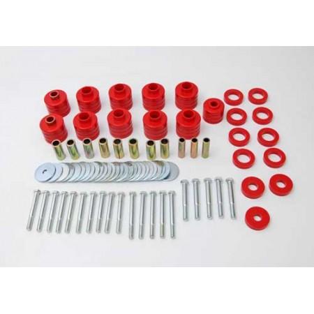 Silentblocs de caisse avec 鬩ments de rehausse, 1 pouce 25mm CJ,
