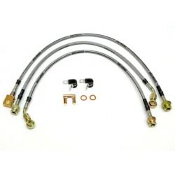 Kit de flexibles de frein en acier inox pour véhicules surélevés, TJ,