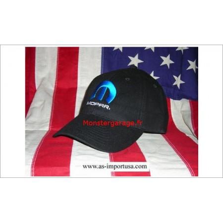 Casquette Mopar avec logo mopar bleu
