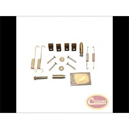 Kit de rattrapage ressorts , agrafes, tendeurs pour frein à disque arrière ZJ 1994-1998