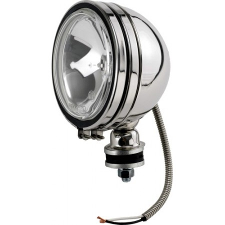 """Phare off road 6"""" inox 12 V 100 W avec cache ampoule H3 vendu a l'unite"""