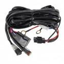 Faisceau complet pour branchement de feu led , interrupteur relais et fusible inclus