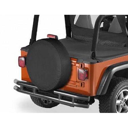 Housse de roue de secours, US-Standard 255-275/75 (31'x11') Couleurs: Black Dia.