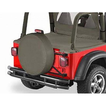 Housse de roue de secours, US-Standard 255-275/75 (31'x11') Couleurs: Khaki Dia.