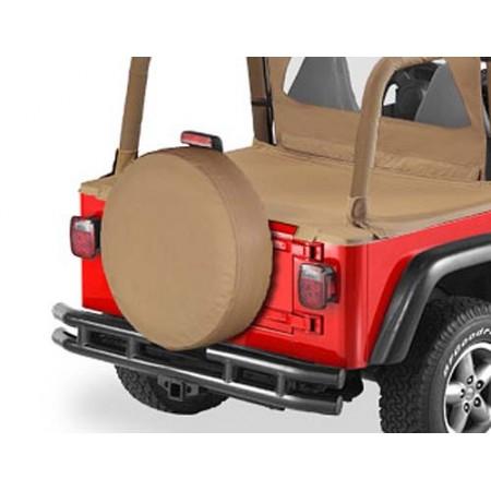 Housse de roue de secours, US-Standard 255-275/75 (31'x11') Couleurs: Spice