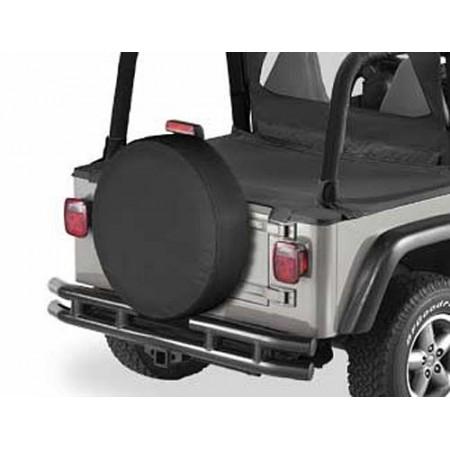 """Housse de roue de secours, US-Standard 285/75 (33""""x11"""") Couleurs: Black Denim"""