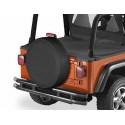 """Housse de roue de secours, US-Standard 285/75 (33""""x11"""") Couleurs: Black Dia."""