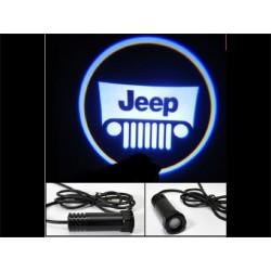 Eclairage de portière Jeep avec LED