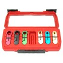 Outils de separation pour tuyauterie essence , clim , boite auto , 5/16,3/8,1/2,5/8,3/4,7/8