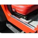 Protections de seuil de porte, acier inox, TJ,