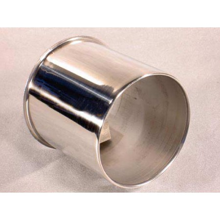 Cache-moyeu, avant chrome CJ 76-86