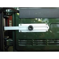 Ridelle de hayon stopper, Aluminium, Wrangler,