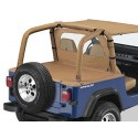 """Cover tonneau """"Duster"""", Spice, YJ,"""