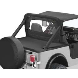 Couverture de plateau de chargement 'Duster', en combinaison avec support de bâche Supertop Couleurs: Black Denim, CJ7,YJ,