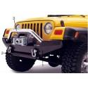 Winch Bumper, acier noir Bestop YJ/TJ,