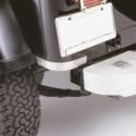 Protections de bas de caisse, acier inox, protection arrière, TJ,
