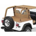 """Cover tonneau """"Duster""""spice, YJ,"""