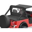 """Cover tonneau """"Duster"""", avec systeme de glissieres, sans support CJ7,YJ"""