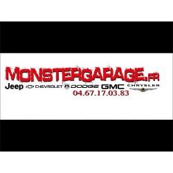 Autocollant Monster garage