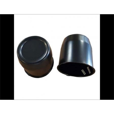 Cache moyeu noir 80 mm
