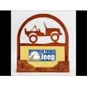 Porte carte de visite Jeep Wrangler