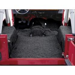 Kit de tapis, avec couche isolante int駲饬 noir, CJ 7, YJ,