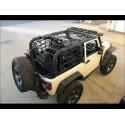 Filet de protection Cargo Netz Jeep Wrangler JK 2 portes