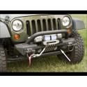 Pare choc avant Rugged Ridge XHD en aluminium JK