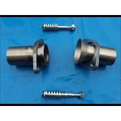 Compasateur d'echappement inox diametre 55 mm longeur 170 mm