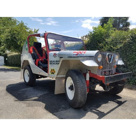 Jeep Vintage course Eric Beaubay