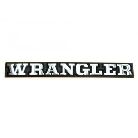 Embleme Wrangler pour YJ