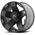 Jante aluminium XD 775 ROCKSTAR noire mat 8X17 5 X 127 ET10 Jeep JK et JKU
